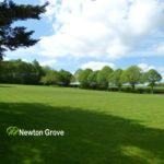Newton Grove CL view up pitching area South Newington